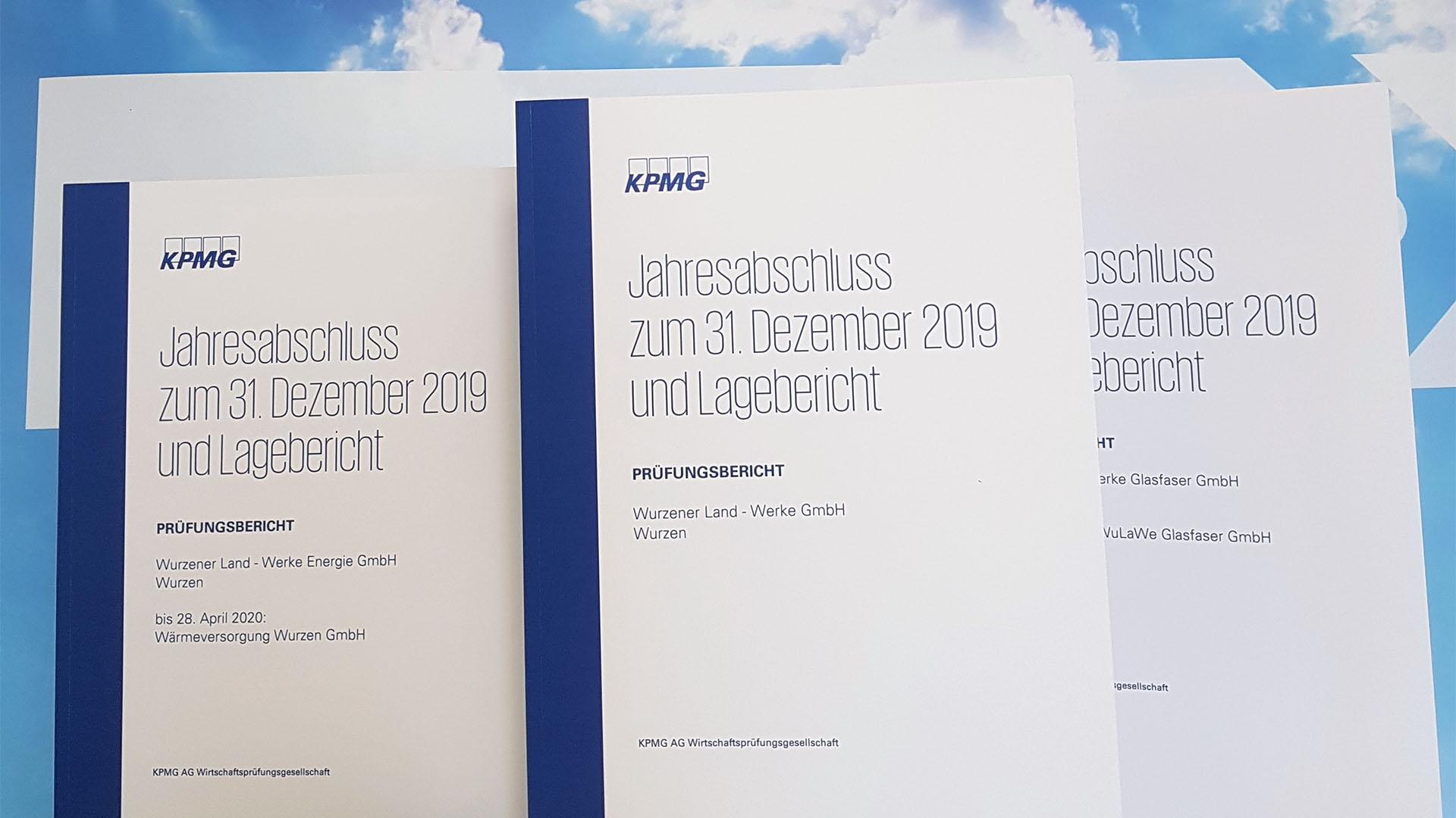 Prüfungsbericht der KPMG zum Jahresabschluss 2019