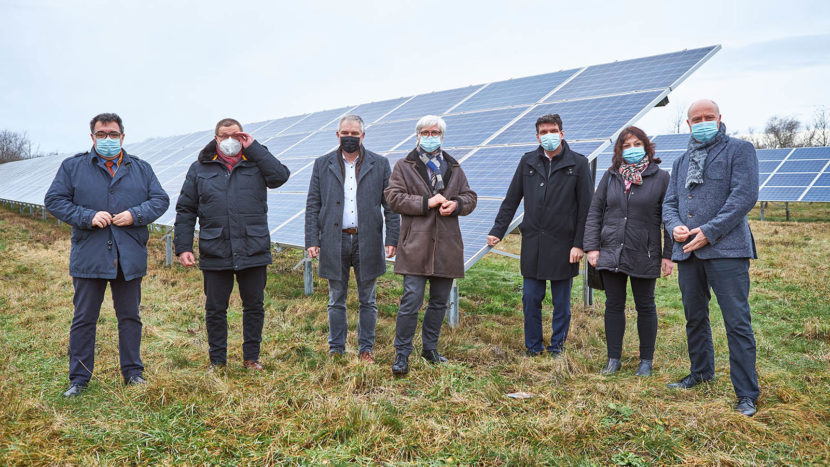 Besuch des Solarparks Kaserne Wurzen